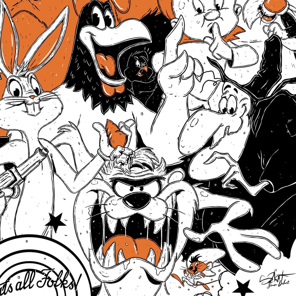 Pop Family - Looney Tunes