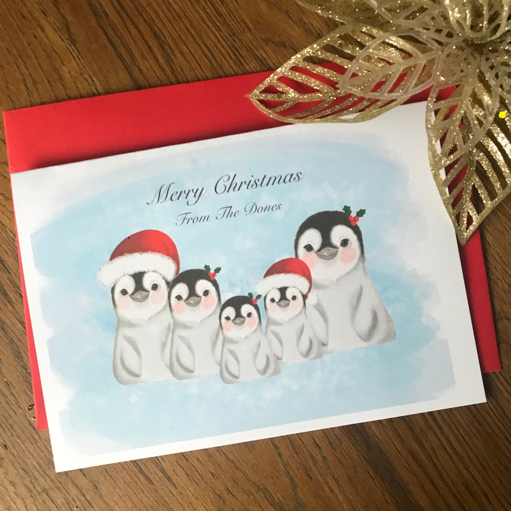 Image of Personalised Christmas Card