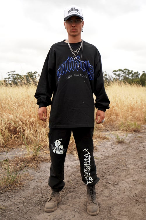 """Image of """"OPEN YOUR MIND"""" BLACK LONG SLEEVE"""
