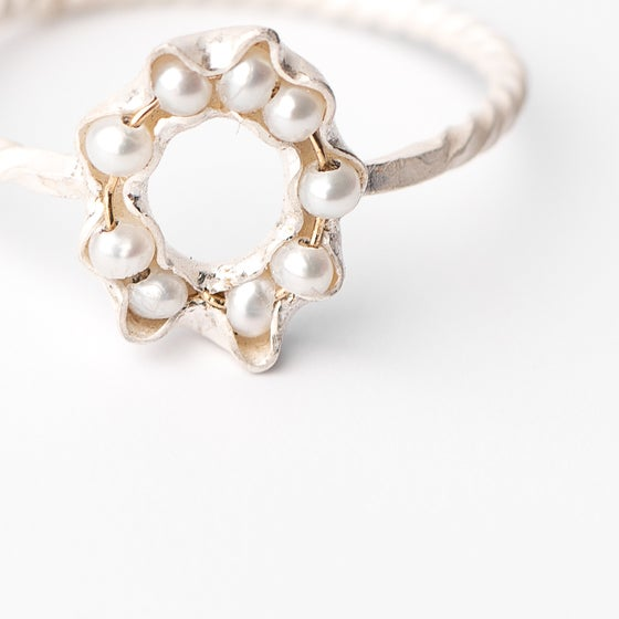 Image of Bague Patty 9 perles