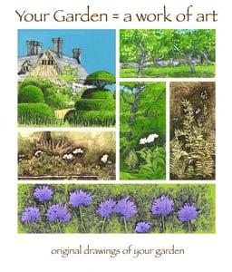 Image of Garden Artwork Gift Token