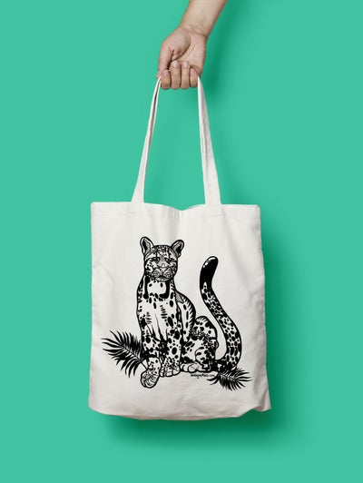 Image of Cotton Bag Big Cat