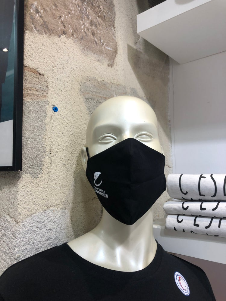 Image of Masque Tissu Ici c'est la Corrèze