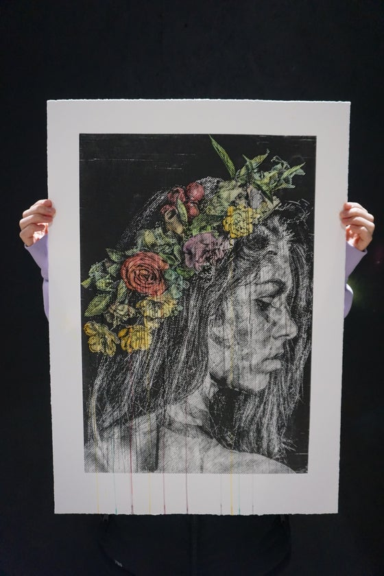 Image of 'Days Go By' - Hand Painted Etchings