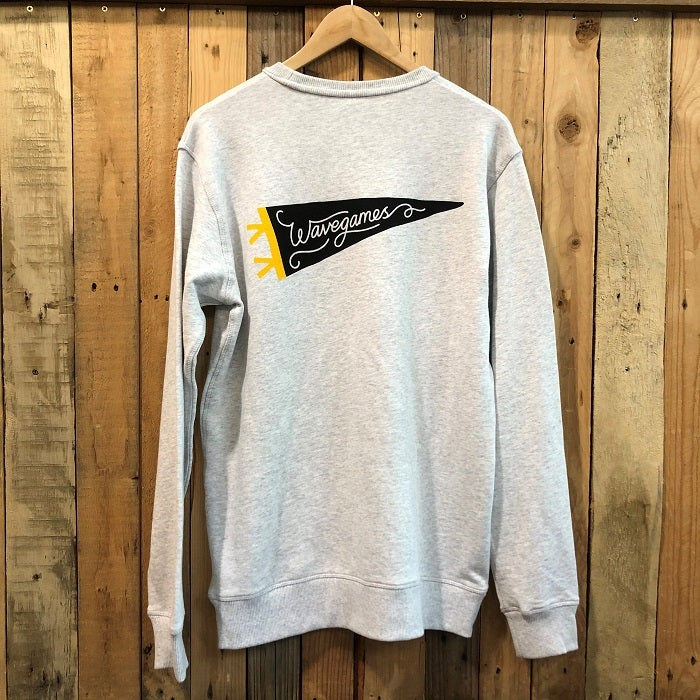Image of Wave Games Pennant Crewneck Fleece