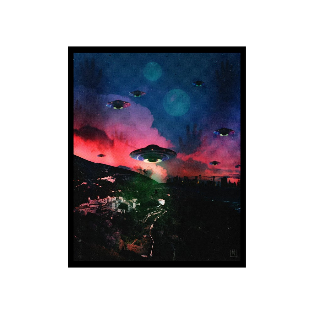Image of UFO Dream 8 x 10 print