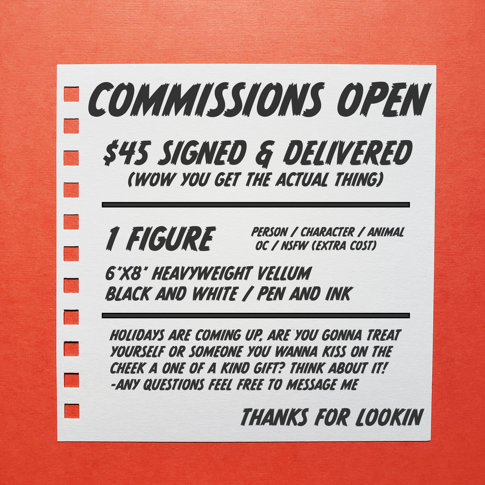 Image of COMMISSIONS
