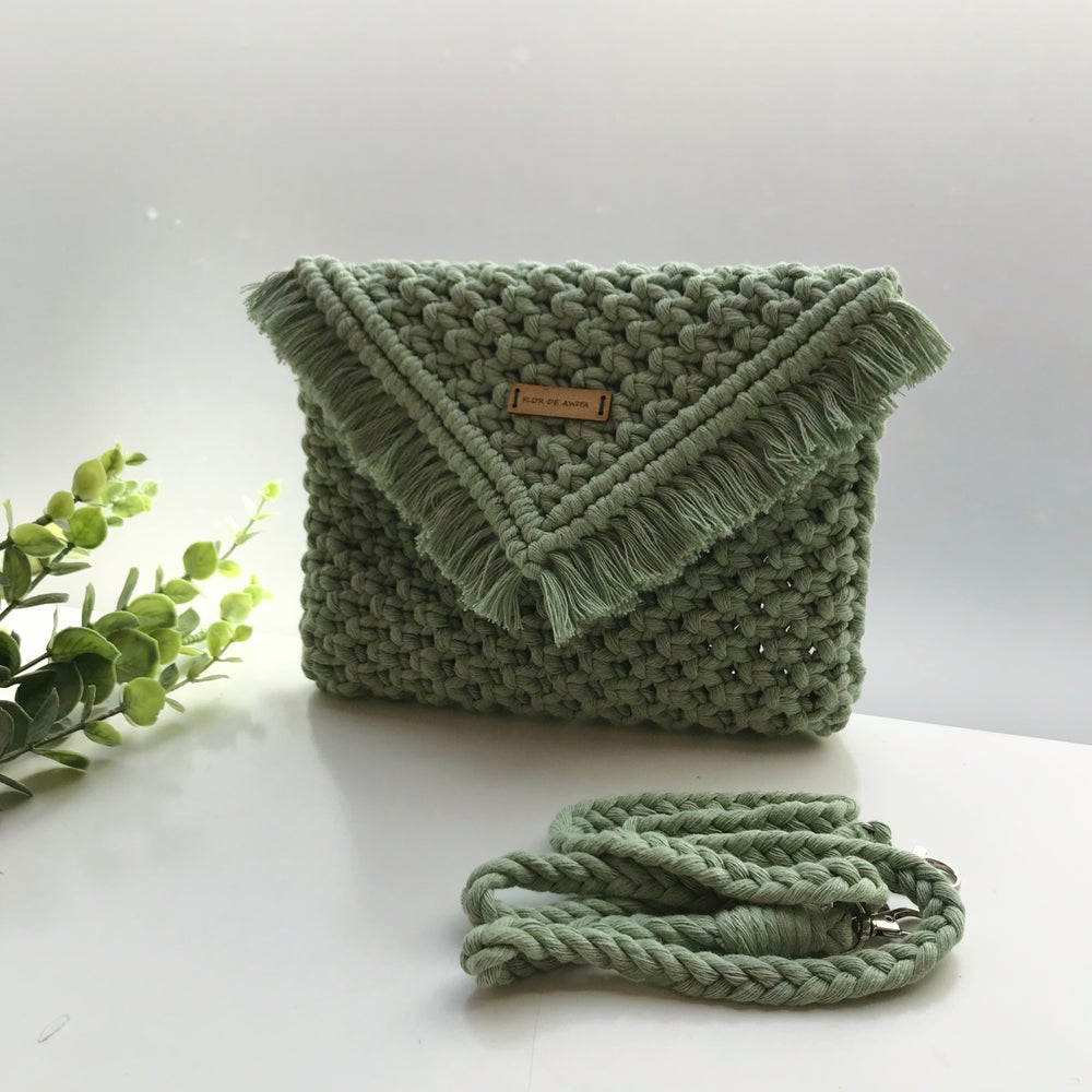 Image of Cactus clutch bag