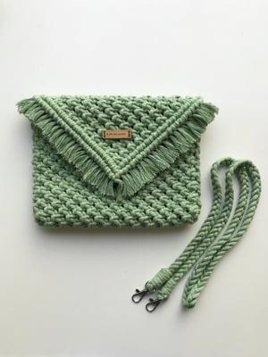 Image of Cactus clutch bag