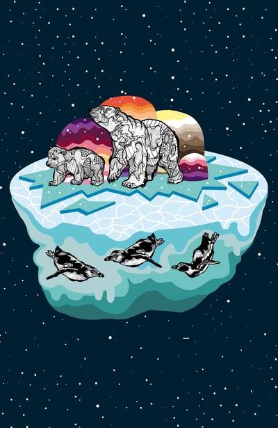 Image of Card Polar Bears