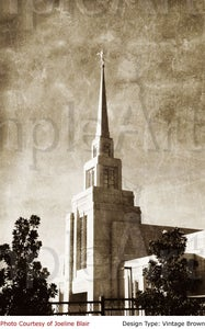 Image of Gila Valley Arizona LDS Mormon Temple Art 002 - Personalized LDS Temple Art
