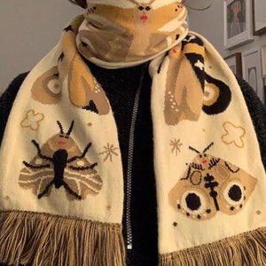 PRE-ORDER Moth Scarf
