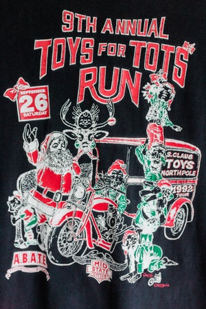 Image of 1992 - 9th Annual Toys for Tots Run