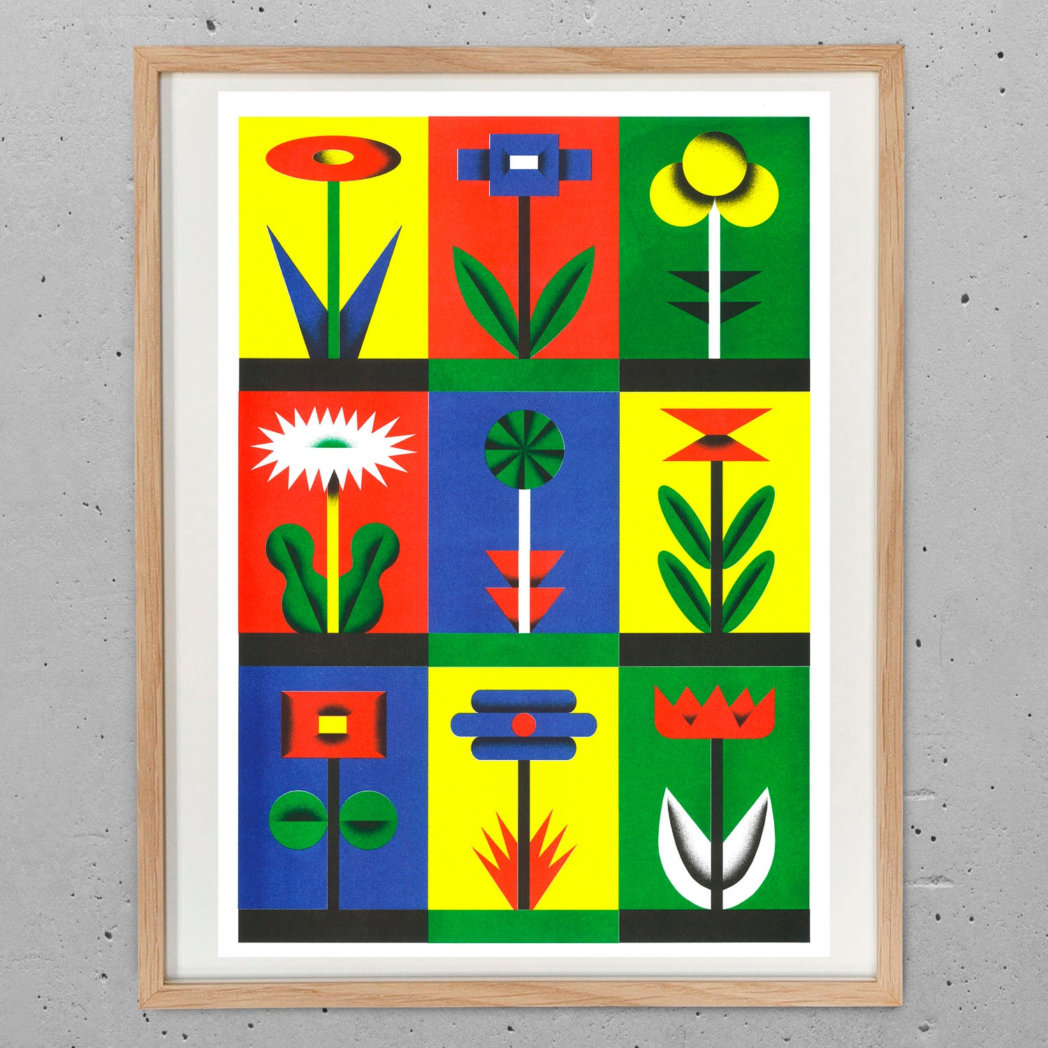 Image of Flowers Risoprint