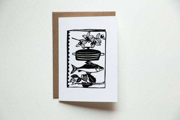 Image of Community Cookbook Notecard