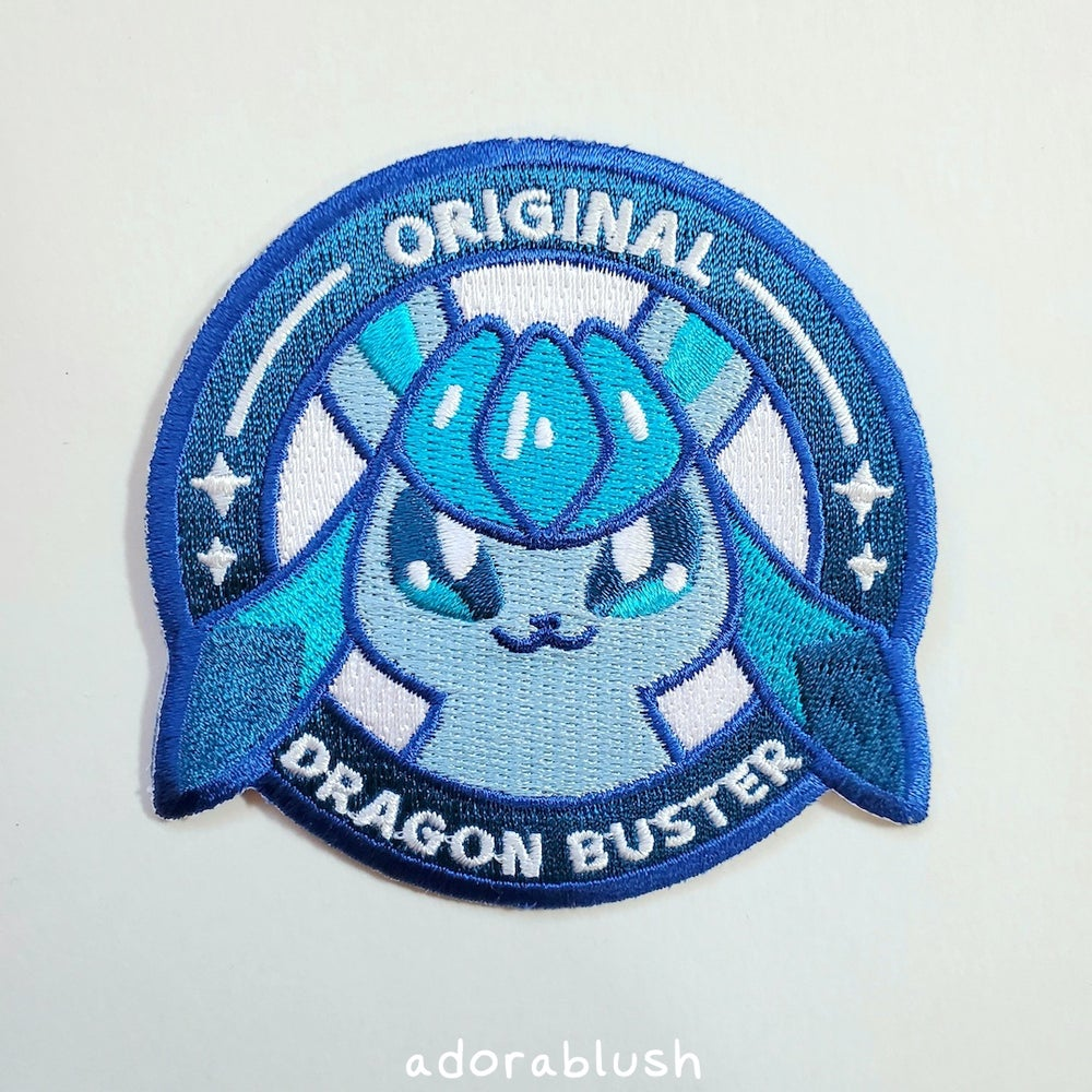 """""""Dragon Buster"""" - Embroidered Patch [Seasonal]"""
