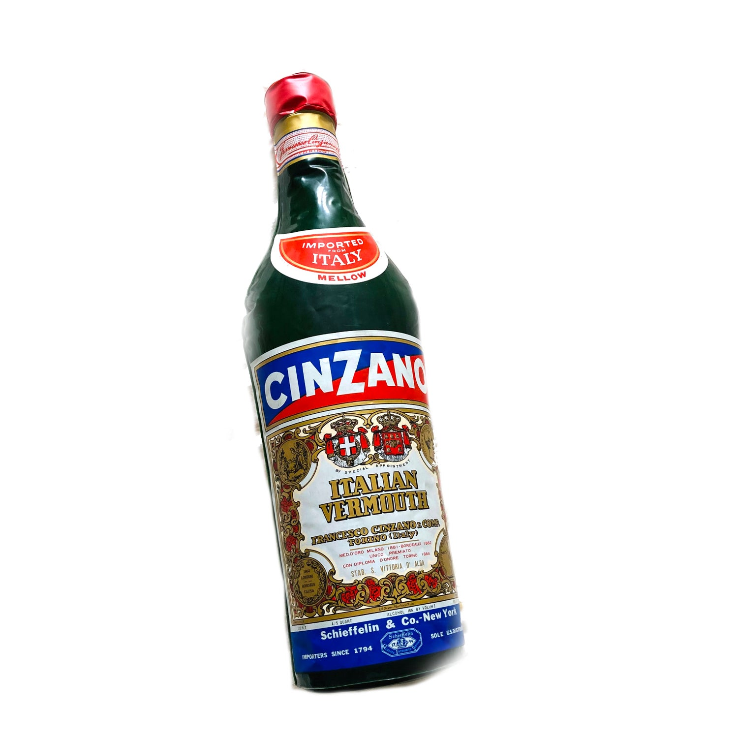 Image of Large Inflatable Cinzano Vermouth Bottle