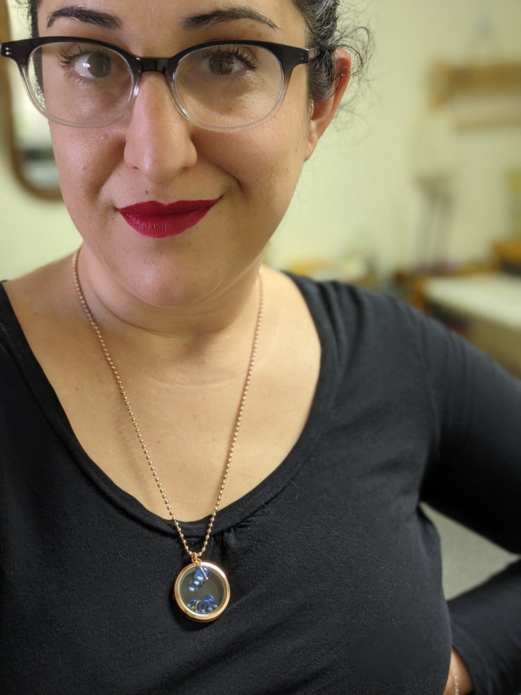 Image of Marker Locket Necklace