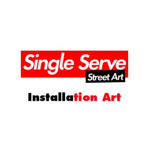 Image of Single Serve Street Art Kit - Installation Art