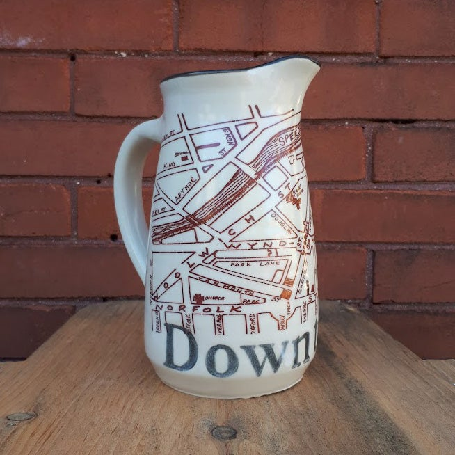 Image of Guelph Inspired 'Downtown' Pitcher by Bunny Safari