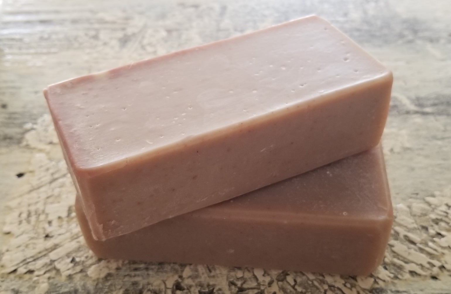 Image of Leather -Goat milk Soap Lg. bar
