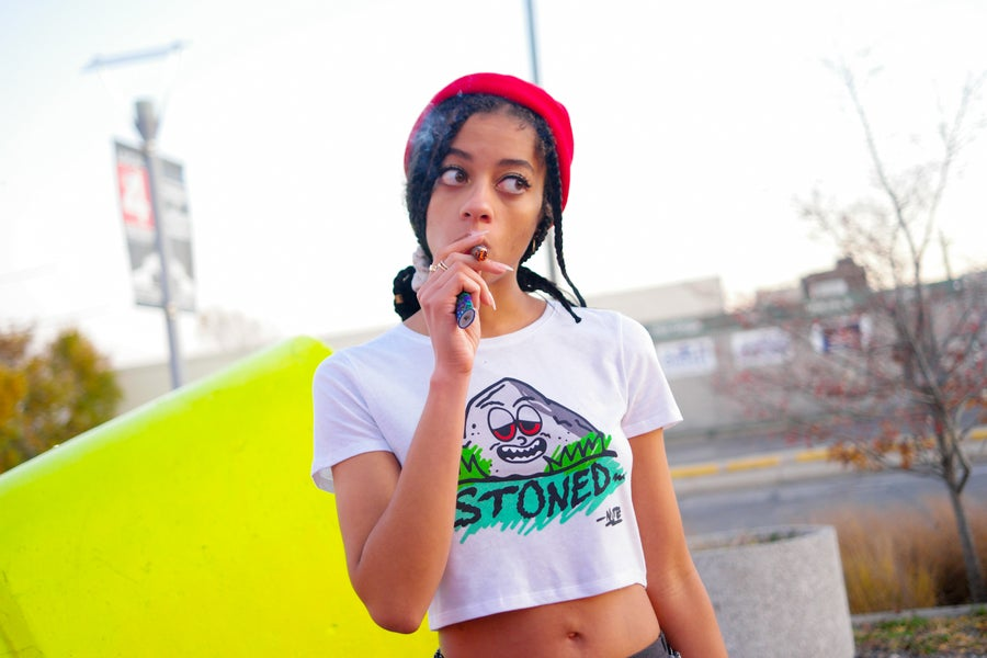 Image of Stoned Crop Top