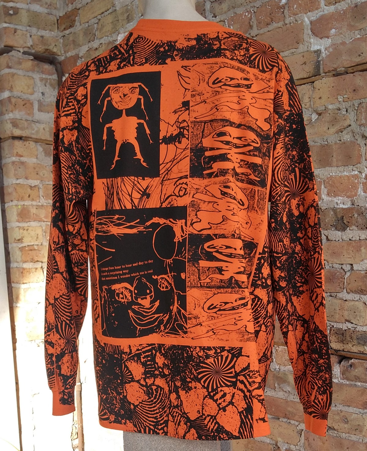 Image of I Diffuse Orange Longsleeve [all sizes]