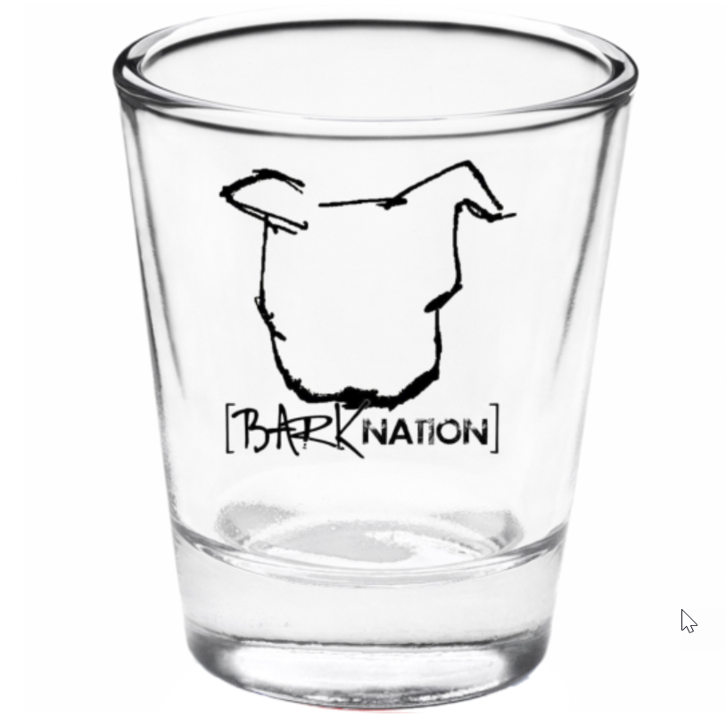 *Fight Hangovers, Not Dogs* Shot Glass!