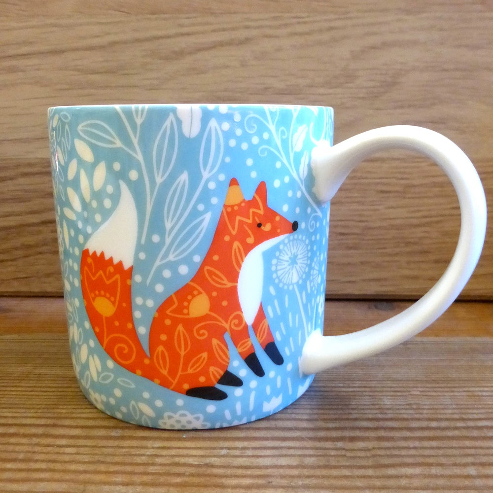Image of Woodland Foxes Mug