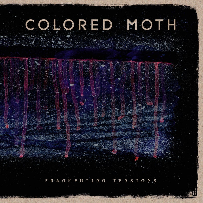 Image of Colored Moth 'Fragmenting Tensions' 12""
