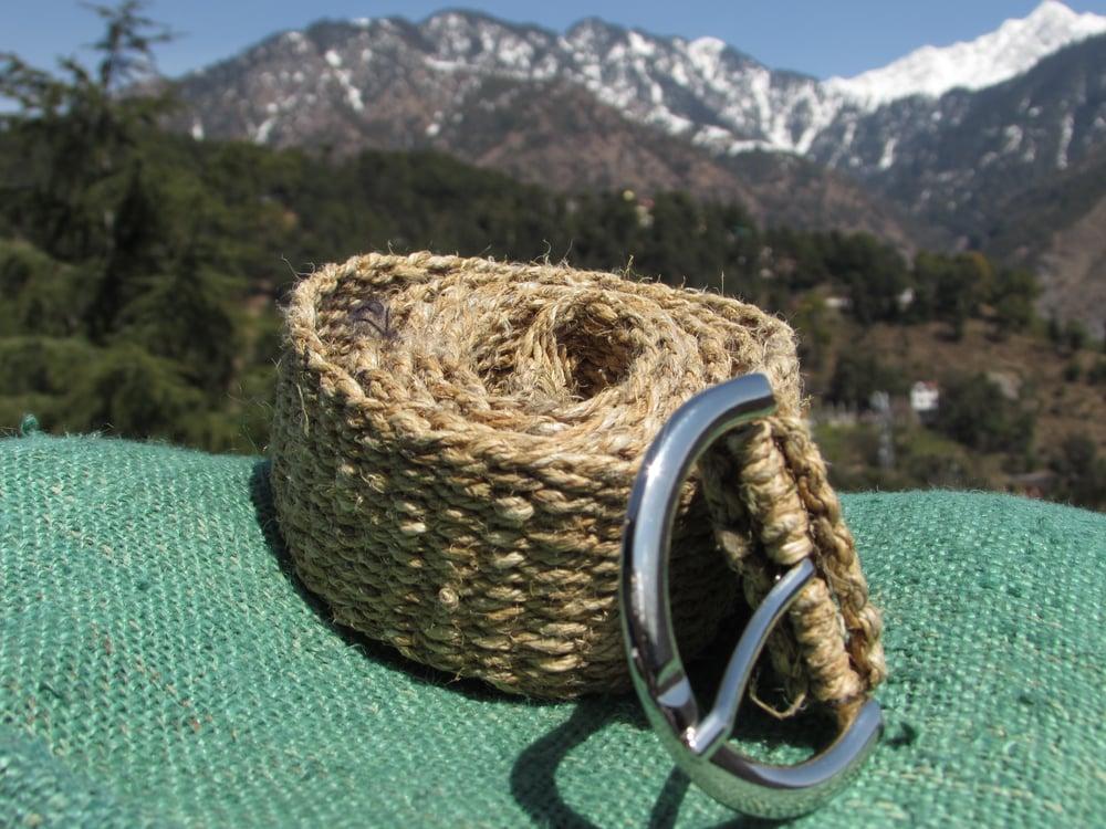 Natural Pure Hemp Belt | Unisex Buckle Strap Belt | Organic, Vegan & Ethical |