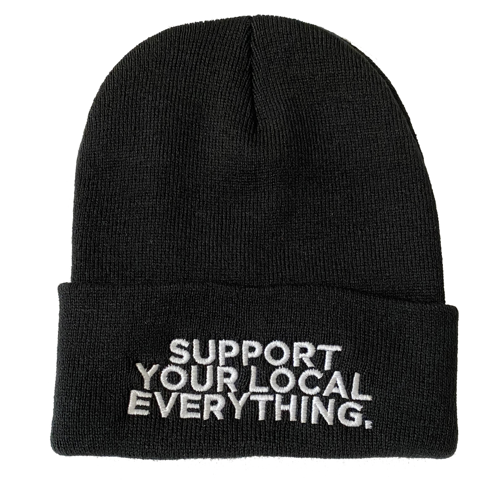 Image of Support Your Local Everything Beanie (FREE SHIPPING)