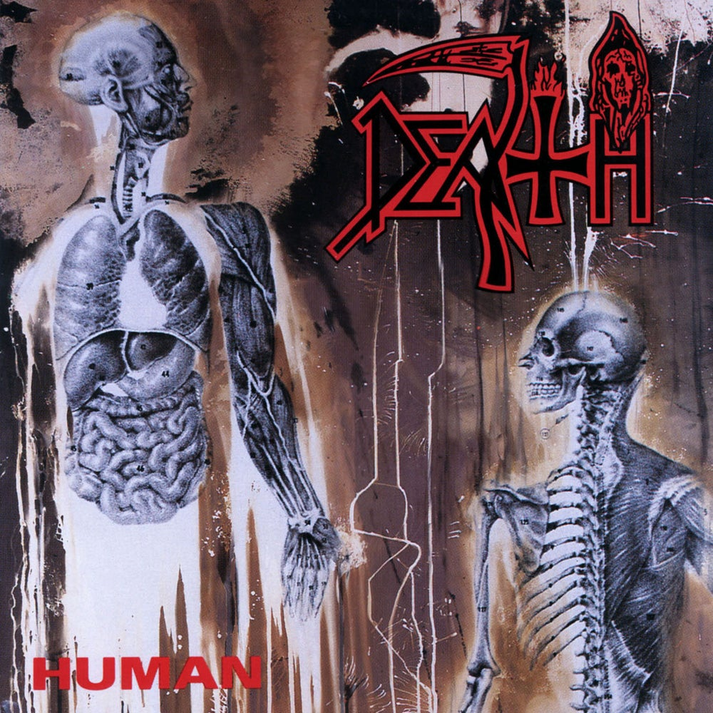 Image of DEATH - Human LP
