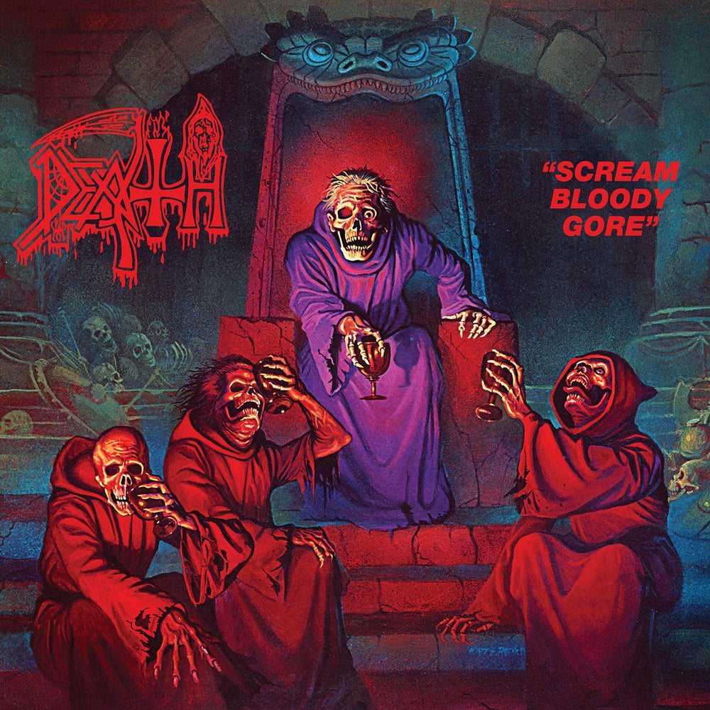 Image of DEATH - Scream Bloody Gore LP