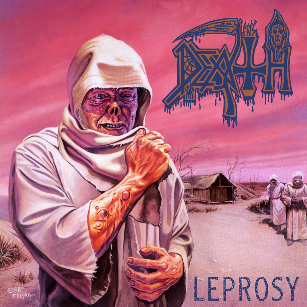 Image of DEATH - Leprosy LP