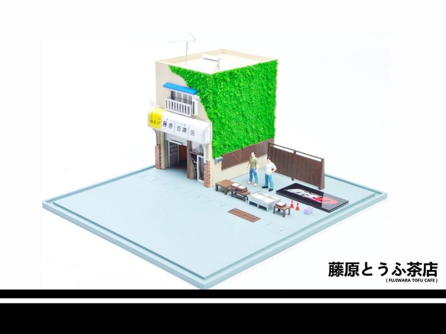 Image of Fujiwara Tofu Shop 1:64 Model Kit Scene