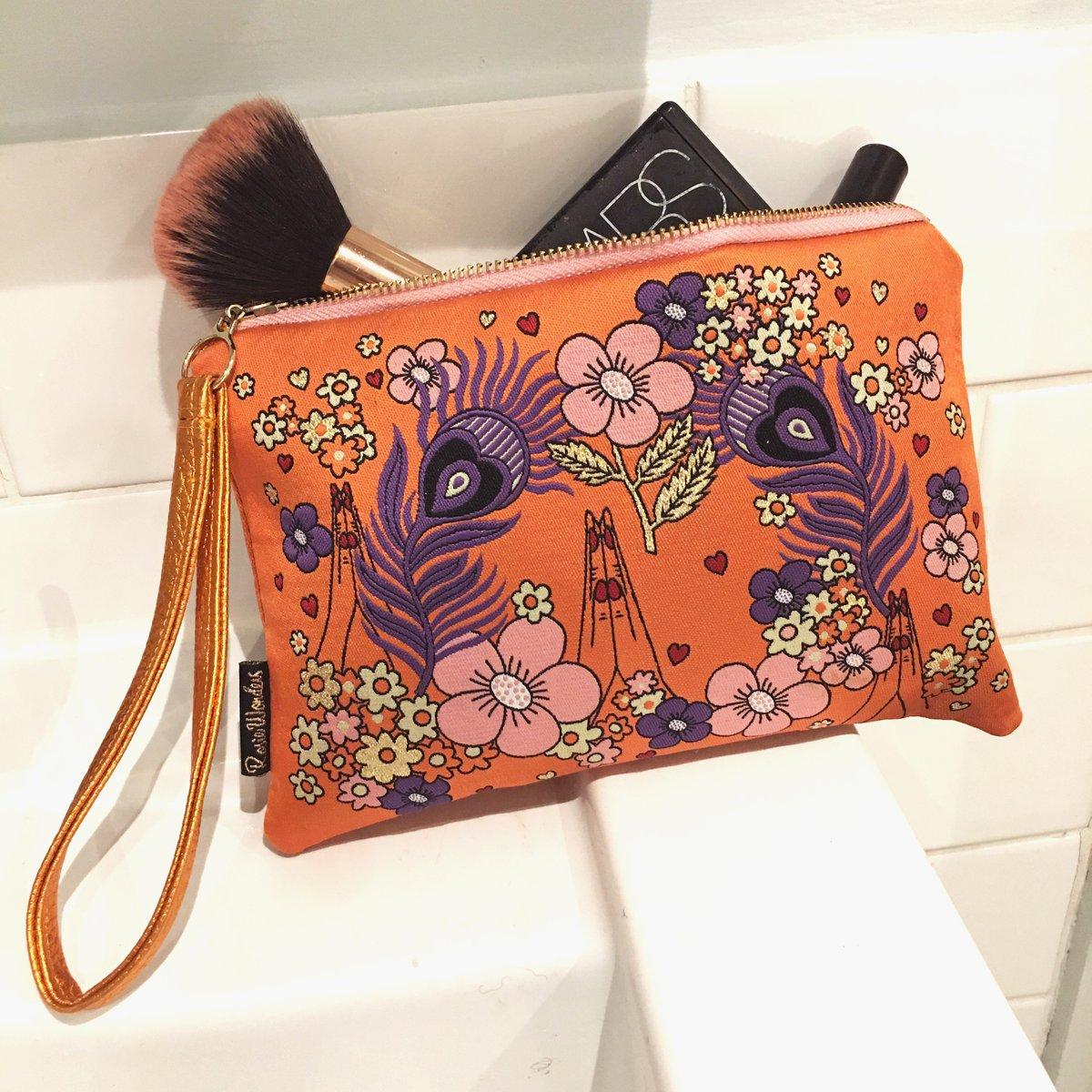 Namaste Woven Wristlet Clutch Bag