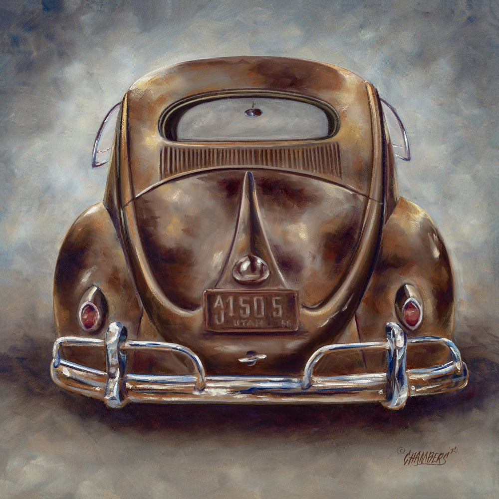 Image of Old VW (Canvas Wrap)