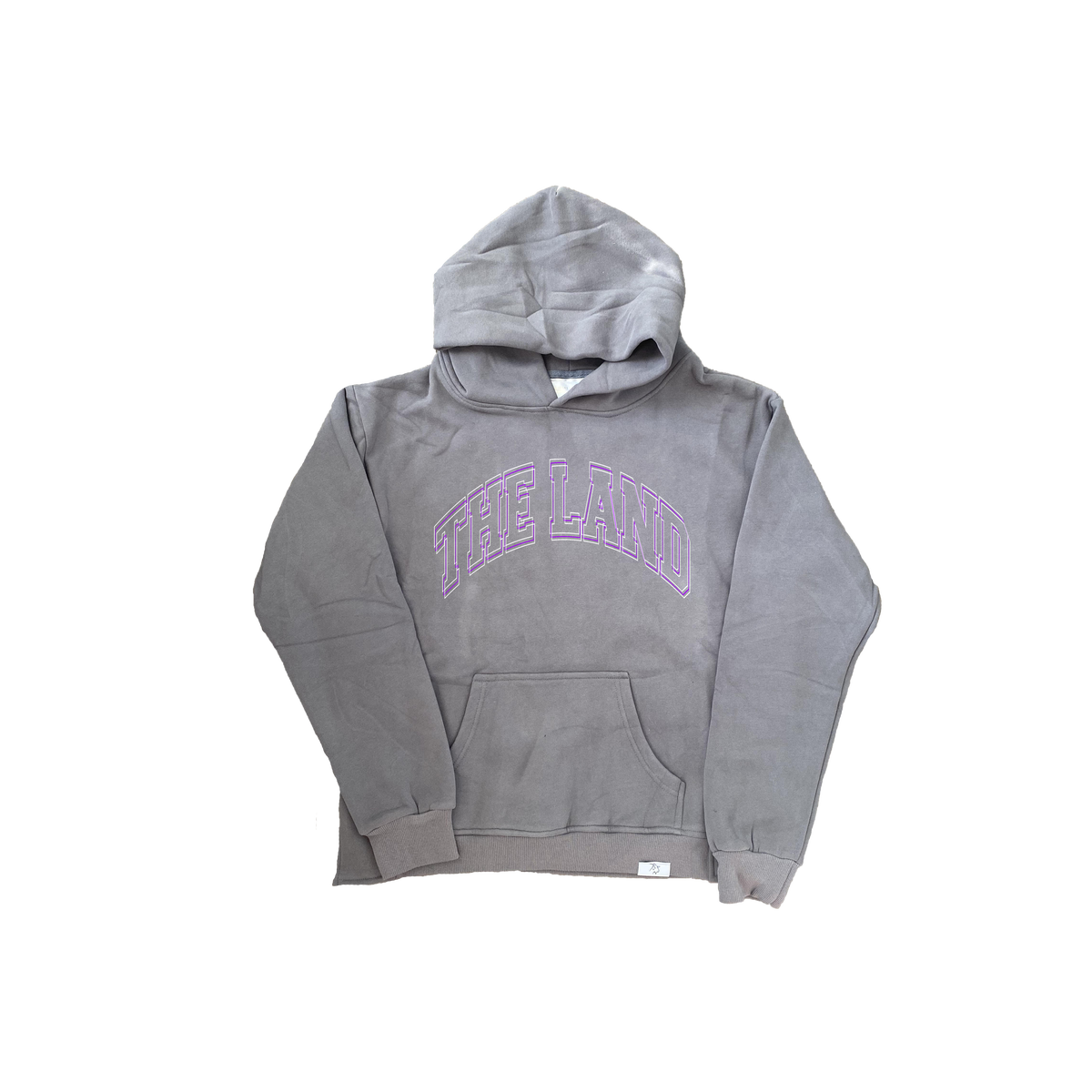"Premium Collection ""The Land"" Grey/Purple Hoodie"