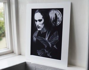 The Crow (Limited edition print)