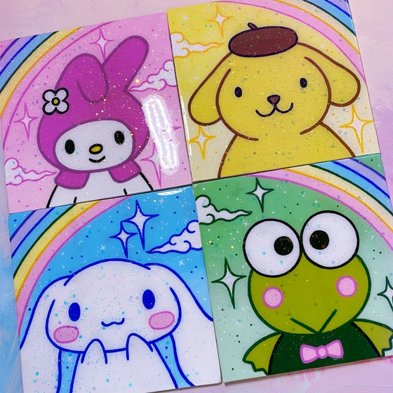 Image of Original Sanrio Paintings