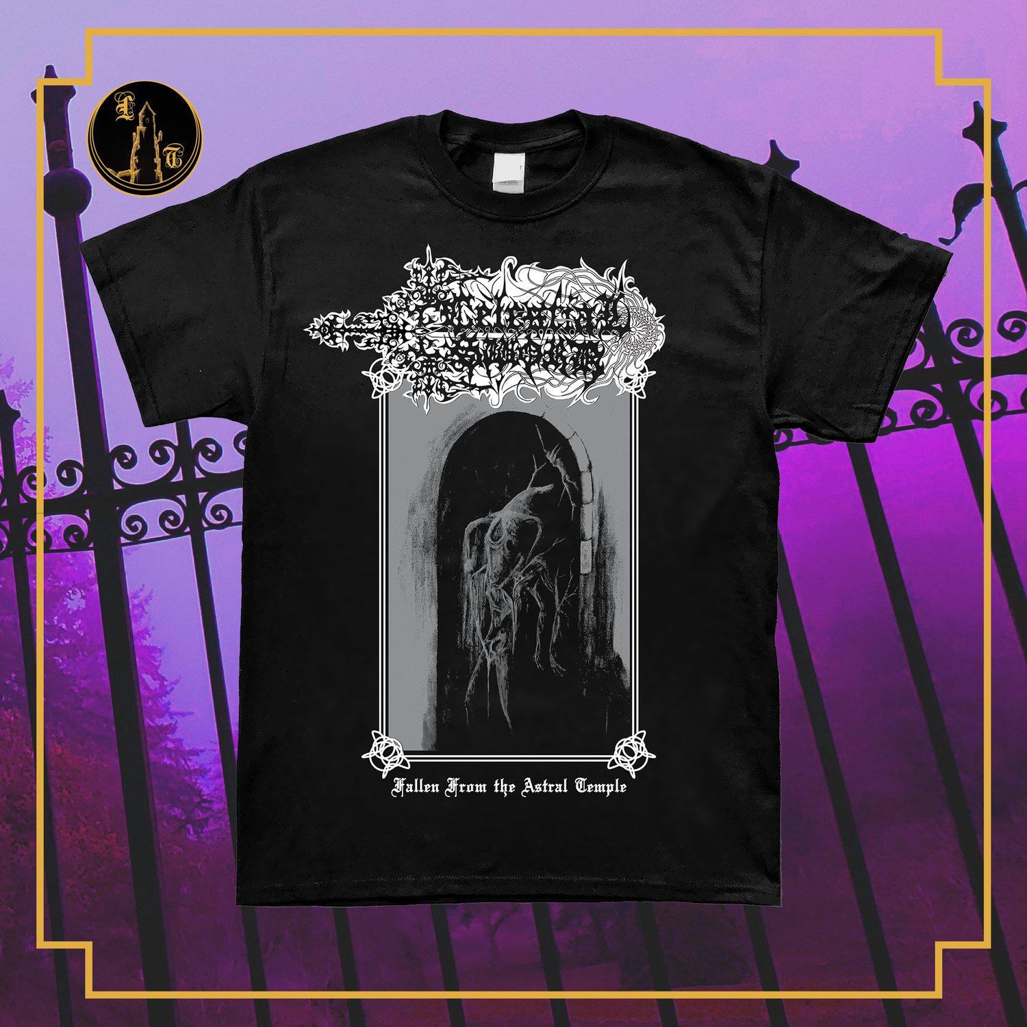 Image of Celestial Sword - Fallen from the Astral Temple short sleeve