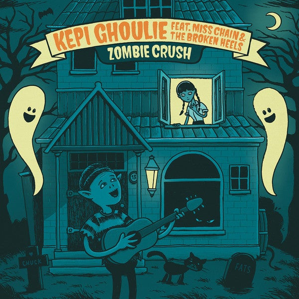 "Image of Kepi Ghoulie/Miss Chain - Zombie Crush 7"" ep"