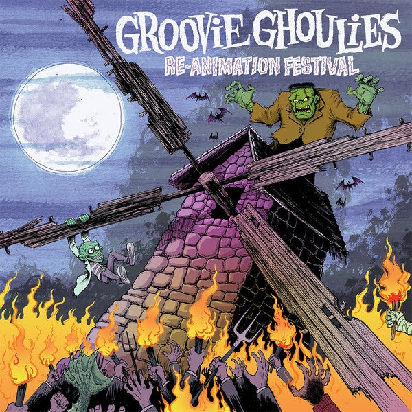 Image of Groovie Ghoulies - Reanimation Festival Lp (reissue)