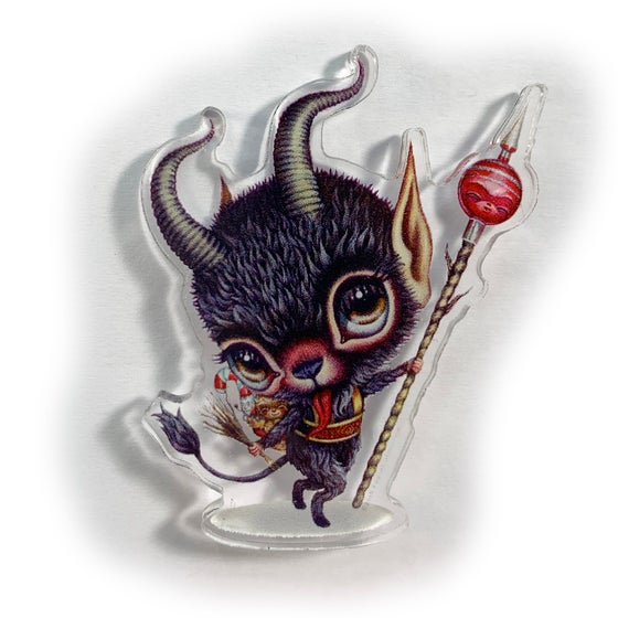 Image of Candy Krampus (Acrylic Pin)