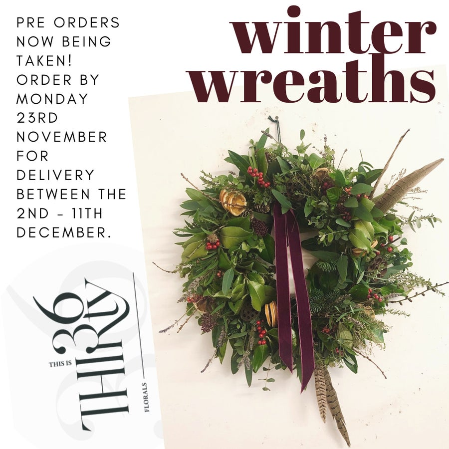 Image of WINTER WREATHS