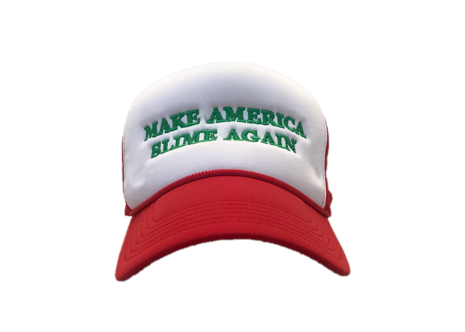 Image of Make America Slime Again Embroidery Hat (WX95 Studios Collab)