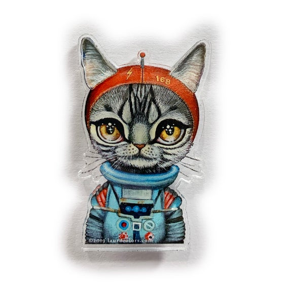 Image of Spacecat (Acrylic Pin)