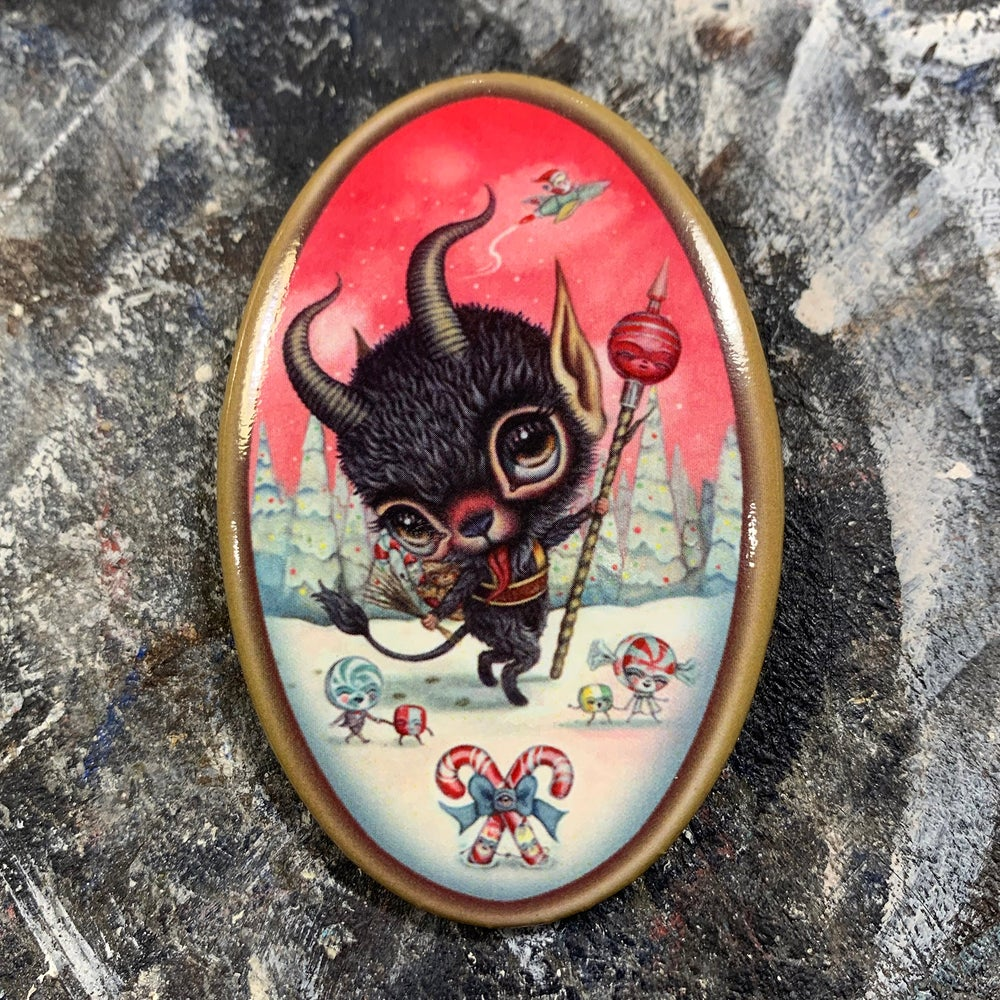 Image of Candy Krampus (Button)