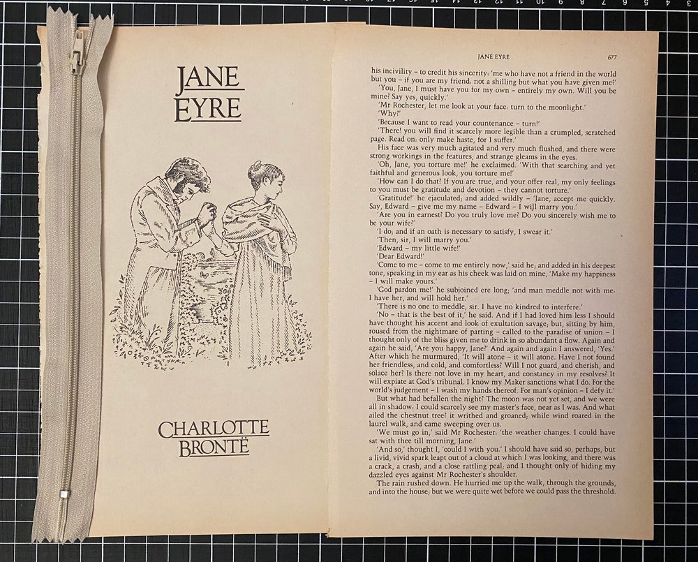 Image of Custom Jane Eyre pencil case for Jo-Anne